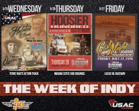 USAC WEEK OF INDY MAY 25-27; HUGE DISCOUNT AVAILABLE VIA SUPERTICKET