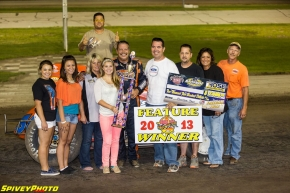 Charlie Davis Jr. wins at Dodge City.