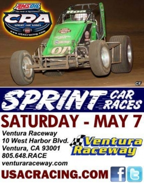 ROA, HODGES SET TO BREAK CRA TIE SATURDAY AT VENTURA