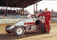 1986 USAC National Sprint Car champion Steve Butler of Kokomo, Indiana