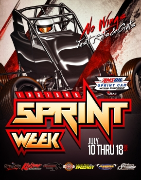 INDIANA SPRINT WEEK OPENS AT 3 VENUES