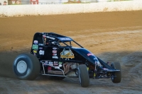 Dave Darland, shown here at Grandview, set a new track record Wednesday at Lincoln.