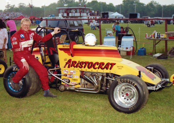 1990 USAC National Sprint Car champion Steve Butler of Kokomo, Indiana