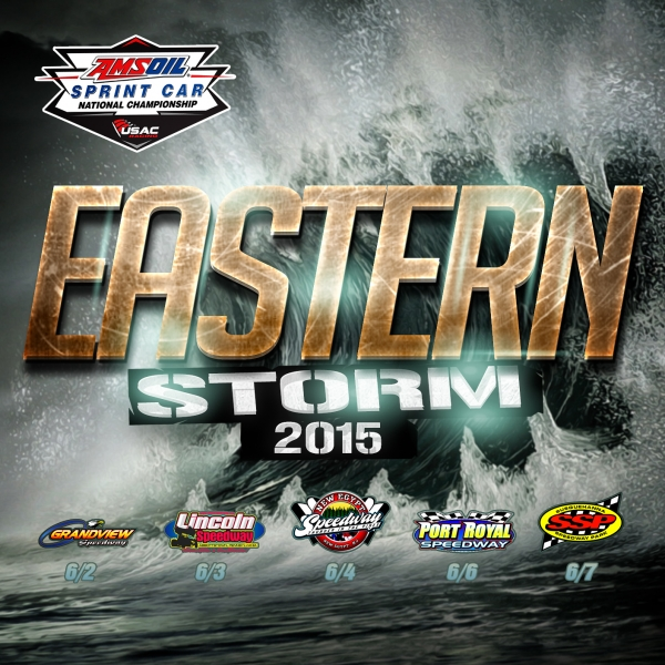 "JUNE 2-7 ""EASTERN STORM"" NEXT FOR AMSOIL SPRINTS"