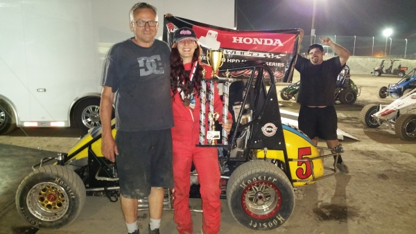 Ashley Hazelton wins at Kern County.
