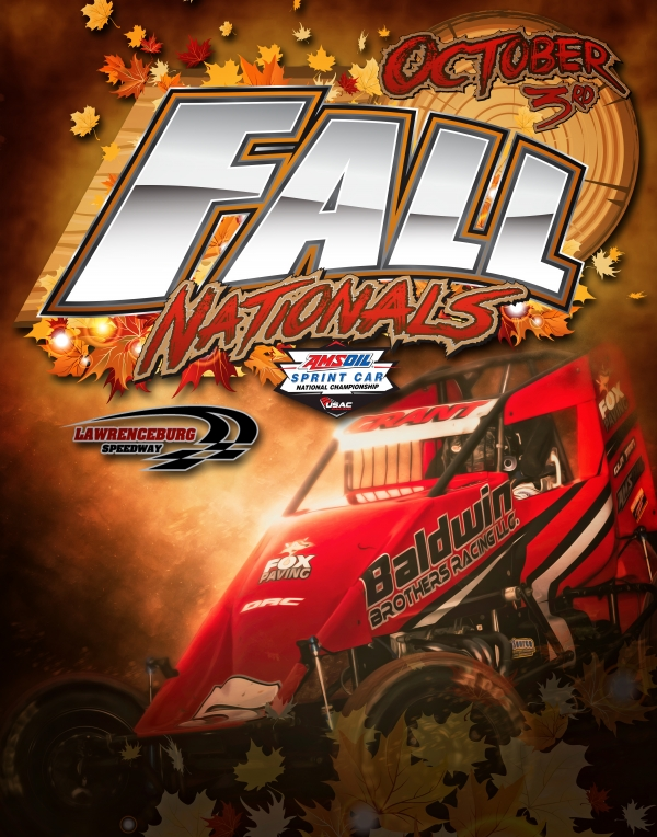 """FALL NATIONALS"" SATURDAY AT LAWRENCEBURG"