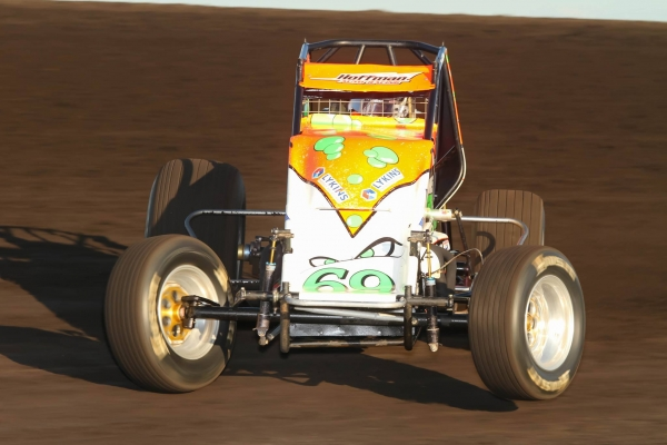 BACON BESTS BALLOU IN CAUTION-FREE JACKSON THRILLER; HOFFMANS CLAIM 100TH USAC SPRINT WIN