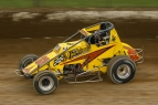 #33m Matt Westfall won a USAC National Sprint Car feature at Eldora in 2006.