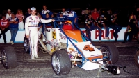 1991 USAC Silver Crown champion Jeff Gordon.