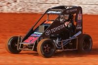 Defending Turkey Night winner Christopher Bell of Norman, Okla.