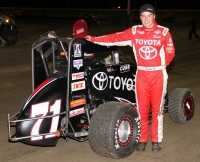 "Christopher Bell takes the ""Gold Crown Midget Nationals"""
