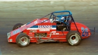 #26 Brian Gerster during the 1999 USAC National Sprint Car season.