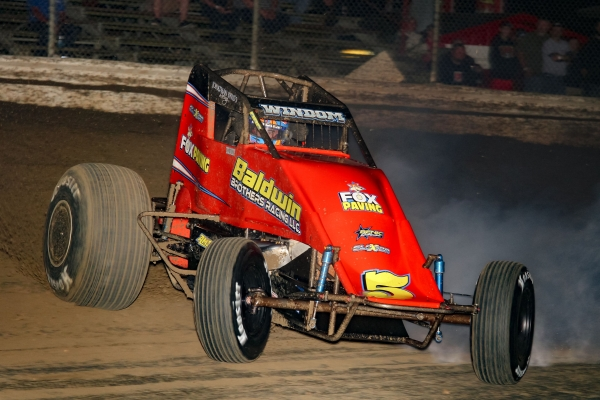 "Chris Windom was fastest in Wednesday night's ""Winter Dirt Games"" practice."
