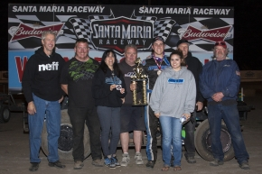 Tristan Guardino and crew celebrate at Santa Maria.