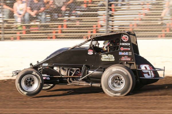 Indiana Sprint Week presented by Camping World point leader Kevin Thomas, Jr.