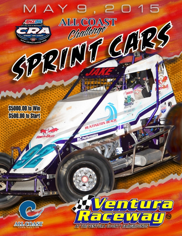 USAC/CRA SPRINTS AT VENTURA SATURDAY