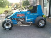 Gene Franckowiak's car, honoring long time car owner Pat Santello, will be driven by Shane Cottle in the Eastern Storm.