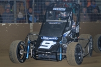"Dillon Welch competes at the inaugural ""Junior Knepper 55"" at Du Quoin's Southern Illinois Center in December of 2015."