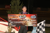 "Chad Boespflug takes the victory during night three of ""Eastern Storm"" at New Egypt (N.J.) Speedway."