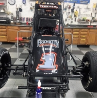 Kevin Thomas, Jr.'s new #1 that he will make his debut with in this weekend's USAC AMSOIL National Sprint Car races at Terre Haute, Ind. (Fri) and Haubstadt, Ind. (Sat.)