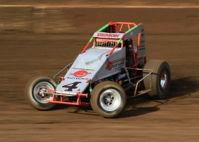 Damion Gardner on his way to sweeping the program Saturday night at Perris...