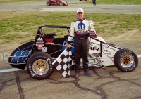 2004 USAC National Sprint Car champion Jay Drake of Val Verde, California