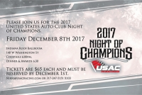 USAC NIGHT OF CHAMPIONS COMES TO DOWNTOWN INDY ON DECEMBER 8TH