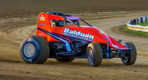 Chris Windom has won the last two USAC events at Indiana's Terre Haute Action Track. This Friday, June 23rd, he aims to become the fifth to win three-in-a-row at the famed half-mile.