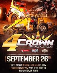 "SILVER CROWN EYES SEPTEMBER 26 ""4-CROWN NATIONALS"""