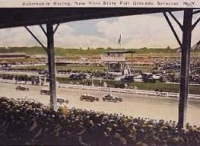 The New York State Fairgrounds first hosted National Championship racing in 1924.