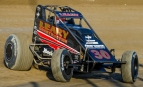 "2017 ""4-Crown Nationals"" USAC AMSOIL National Sprint Car winner C.J. Leary."