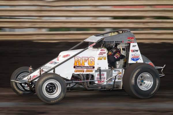 2015 USAC AMSOIL National Sprint Car champion Robert Ballou.
