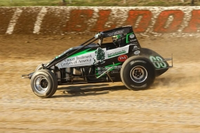 #63 Bryan Clauson wins Friday night at Eldora.