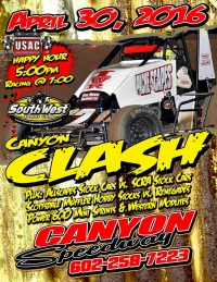 SOUTHWEST SPRINTS AT CANYON SATURDAY; D.J. TAKES TULARE; SUSSEX TOPS AT COCOPAH