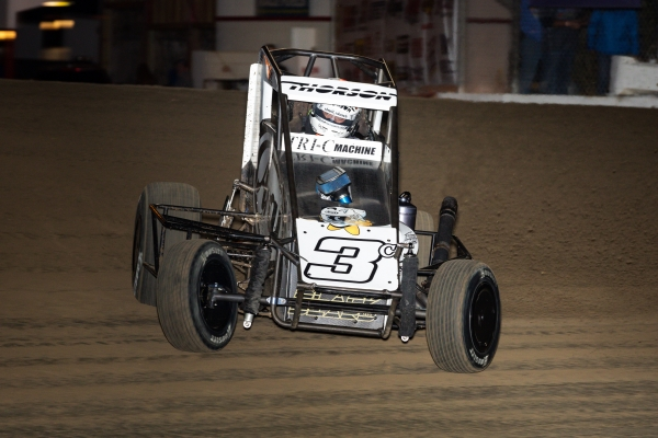 #3c Tanner Thorson in February at Ocala, Fla.