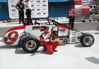2004 USAC Silver Crown champion, Dave Steele.