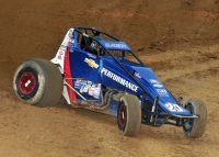 "Bryan Clauson made it back-to-back wins during ""Indiana Sprintweek."""