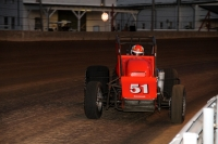 Russ Gamester won the pole for the May 24 Hoosier Hundred.