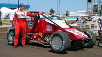 2005 USAC Silver Crown champion, Dave Steele.