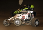 BALLOU STARTS SMACKDOWN IV WITH 9TH SPRINT CAR WIN