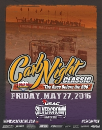 """CARB NIGHT CLASSIC"" WINDS UP USAC'S WEEK OF INDY THIS FRIDAY"