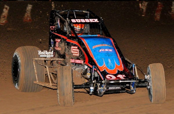 Stevie Sussex on his way to victory at Peoria.
