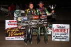 CLAUSON CONQUERS 40 FOR SHORTY AT THE DITCH