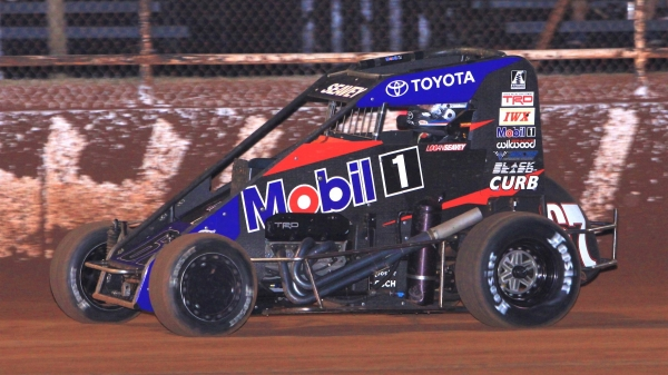 "Logan Seavey captured his second USAC NOS Energy Drink National Midget victory of the season in ""Tuesday Night Thunder"" at Red Dirt Raceway."