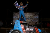 "Tyler Courtney became the 7th driver in the history of the USAC AMSOIL National Sprint Car series to win at least 11 races in a year Saturday night in the ""Western World"" finale at Arizona Speedway."