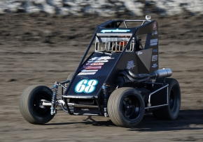 Ronnie Gardner leads the USAC Western States Midget standings with two races remaining.