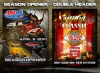 APRIL WEEKEND DOUBLEHEADER AT LAWRENCEBURG, TERRE HAUTE