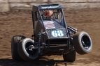 #68 Ronnie Gardner – USAC Western States Midget Point Leader.