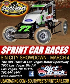 SIN CITY SHOWDOWN FRIDAY AT LVMS; DARLAND & CLAUSON JOIN THE FRAY