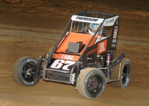 2016 USAC National Midget champion Tanner Thorson begins his quest for a second straight title this Saturday night, March 18 at the Southern Illinois Center in Du Quoin.